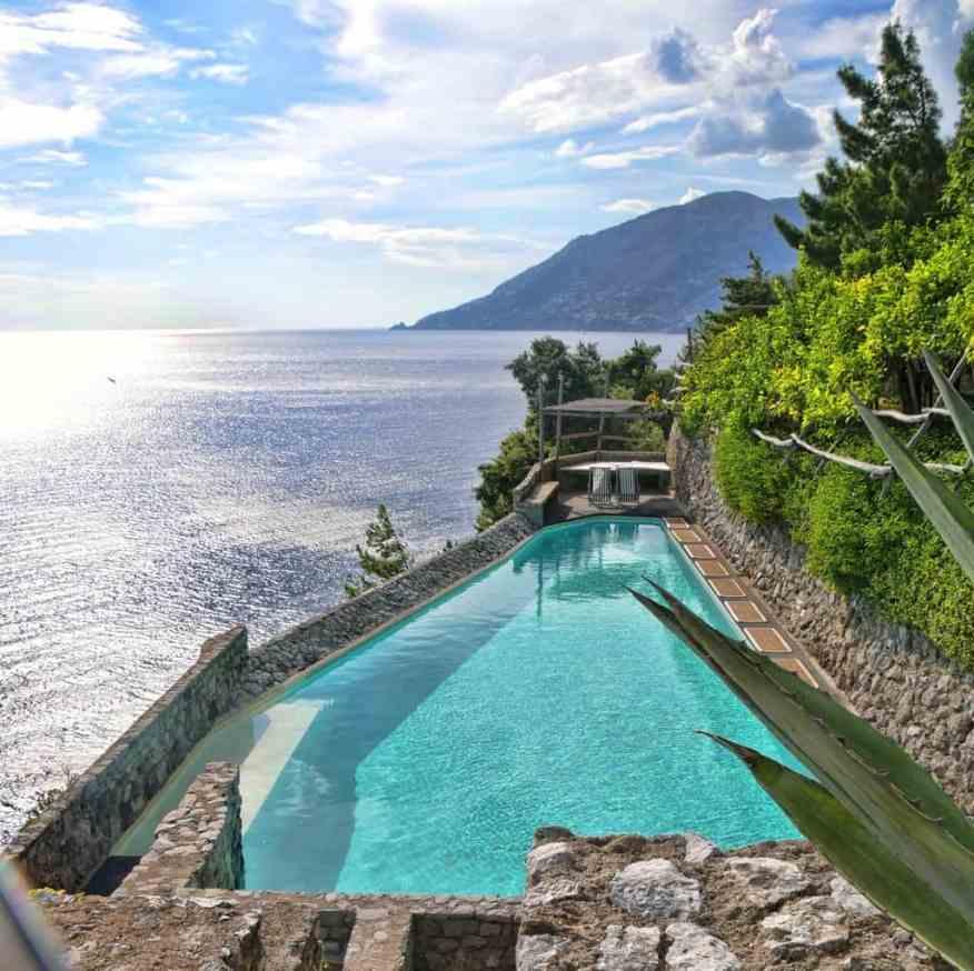 La Limonaia Amalfi Coast swimming pool