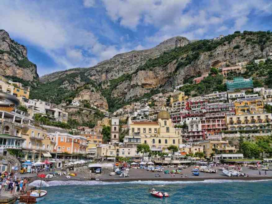 Positano-harbour