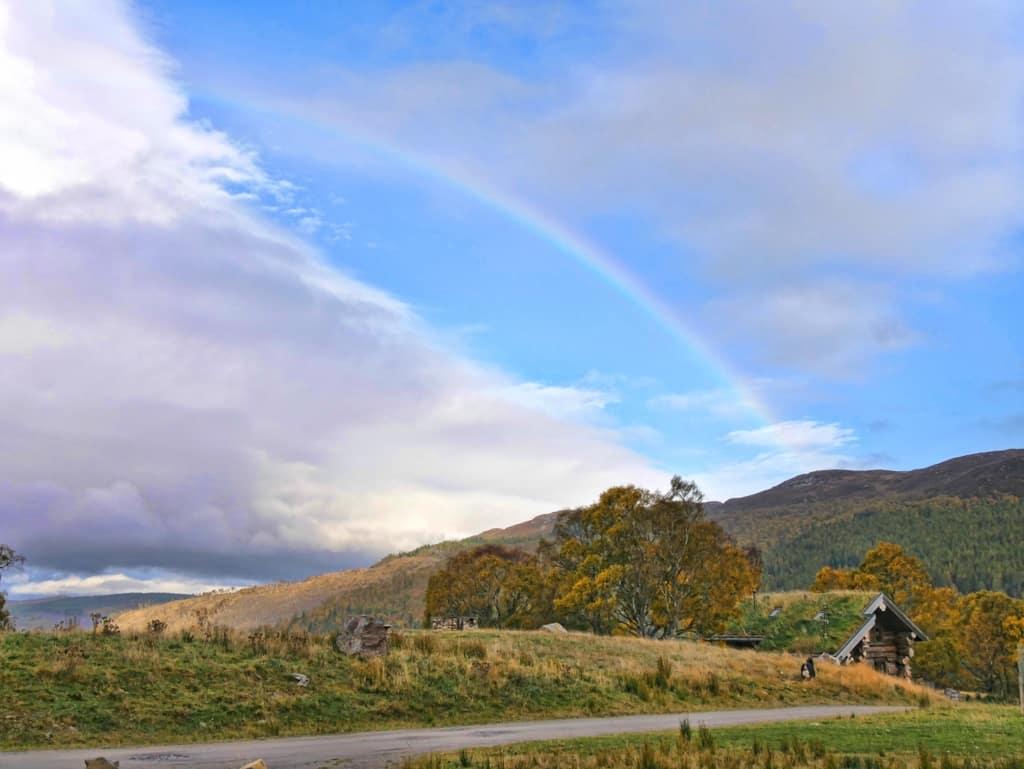 Eagle Brae rainbow