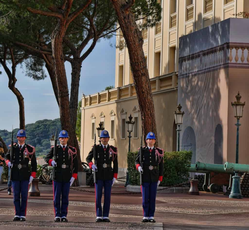 Changing of the guards Monaco