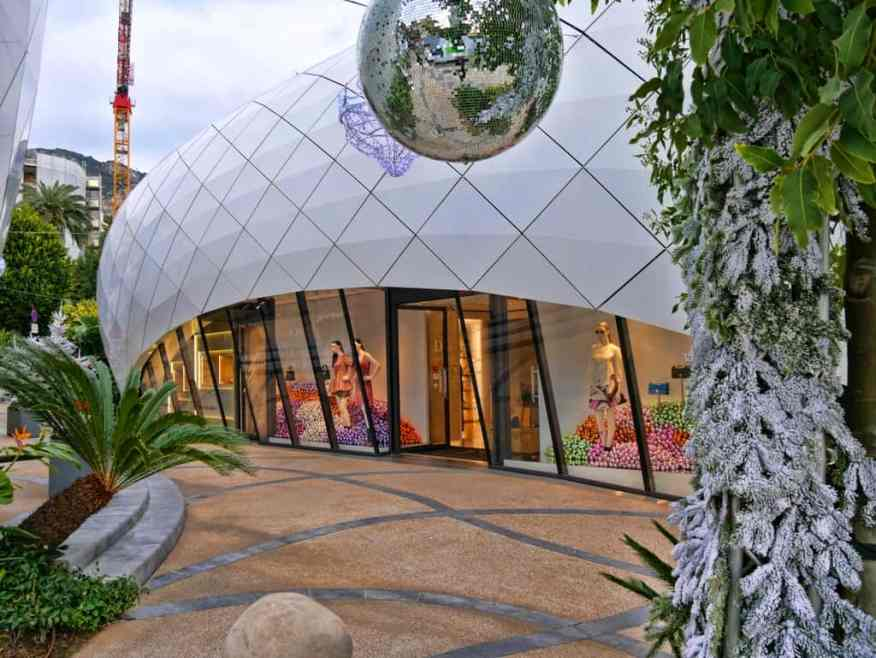 Montecarlo luxury shopping