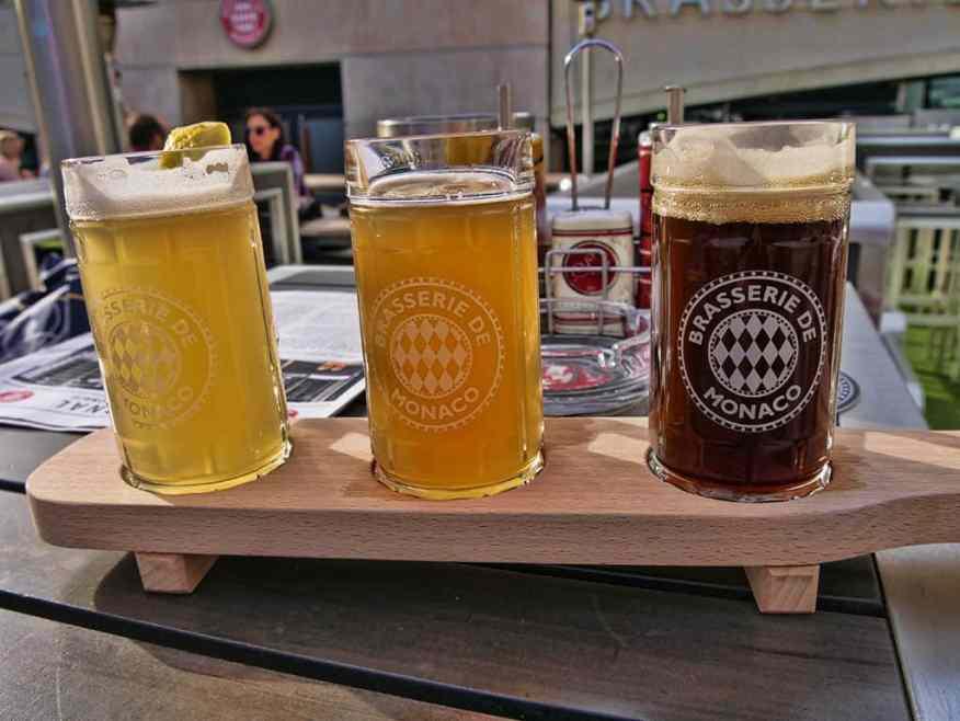 Brasserie de Monaco beers