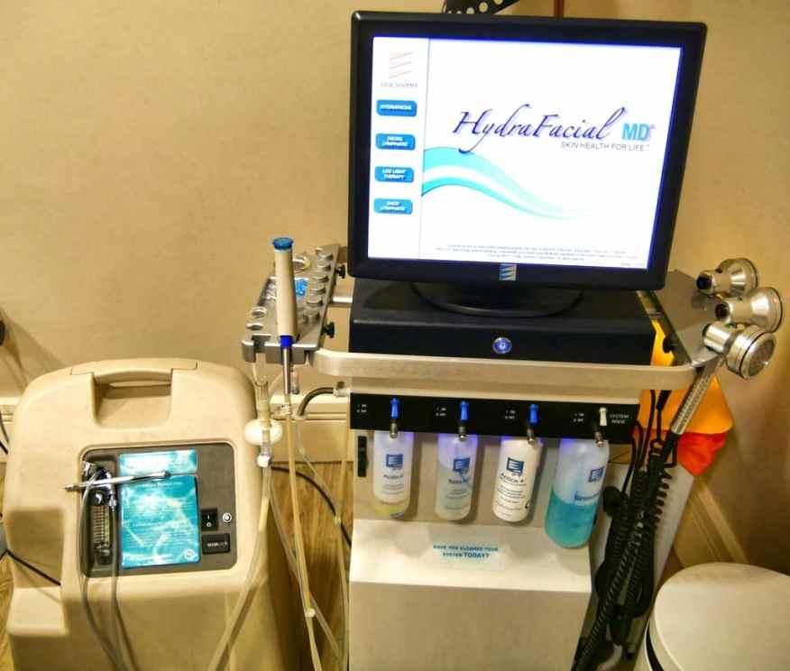 HydraFacial skin health