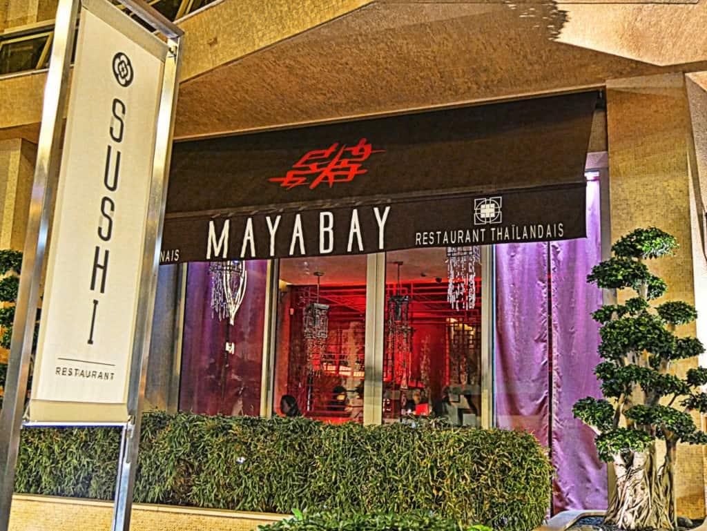 Maya Bay Monaco restaurant thailandais