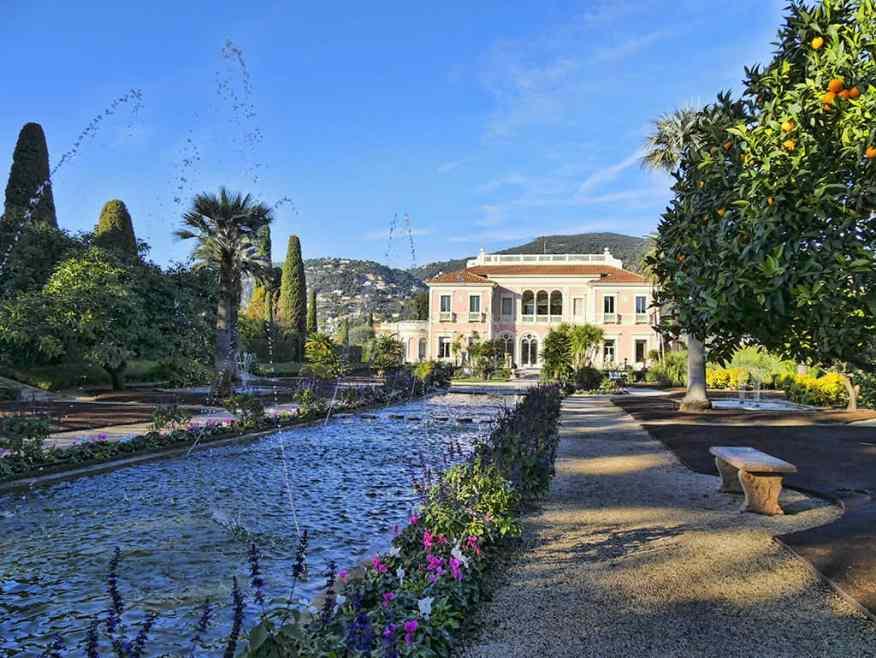 Villa Ephrussi de Rothschild fountains