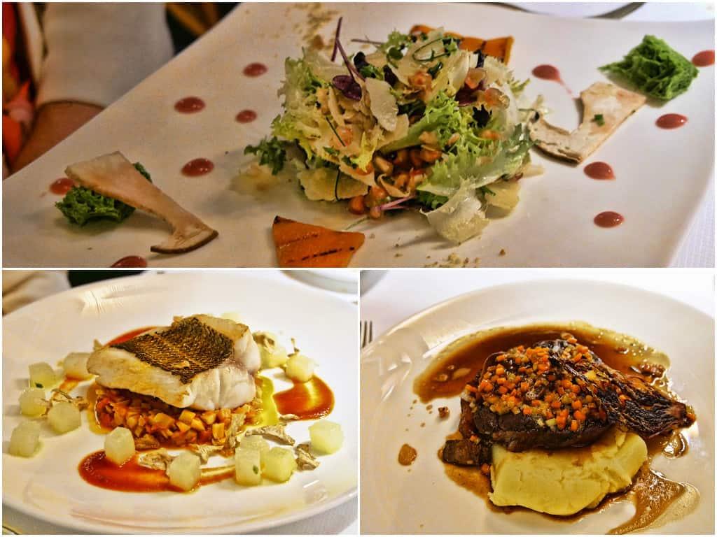 Amalfi Monastero dinner