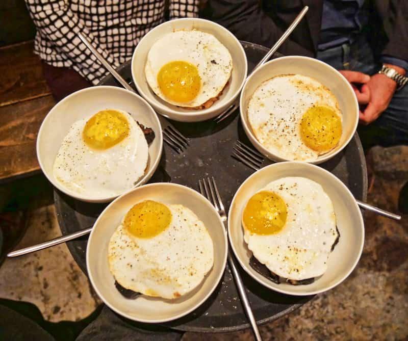 Dabbous eggs