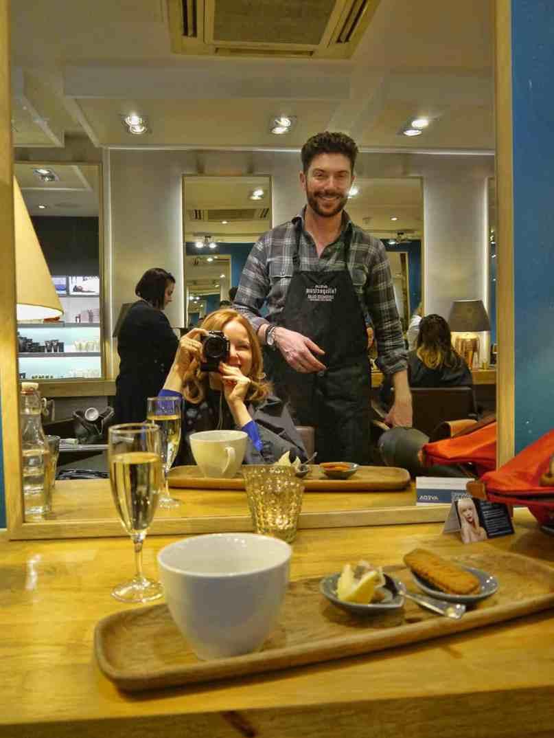 Edward James hairdresser