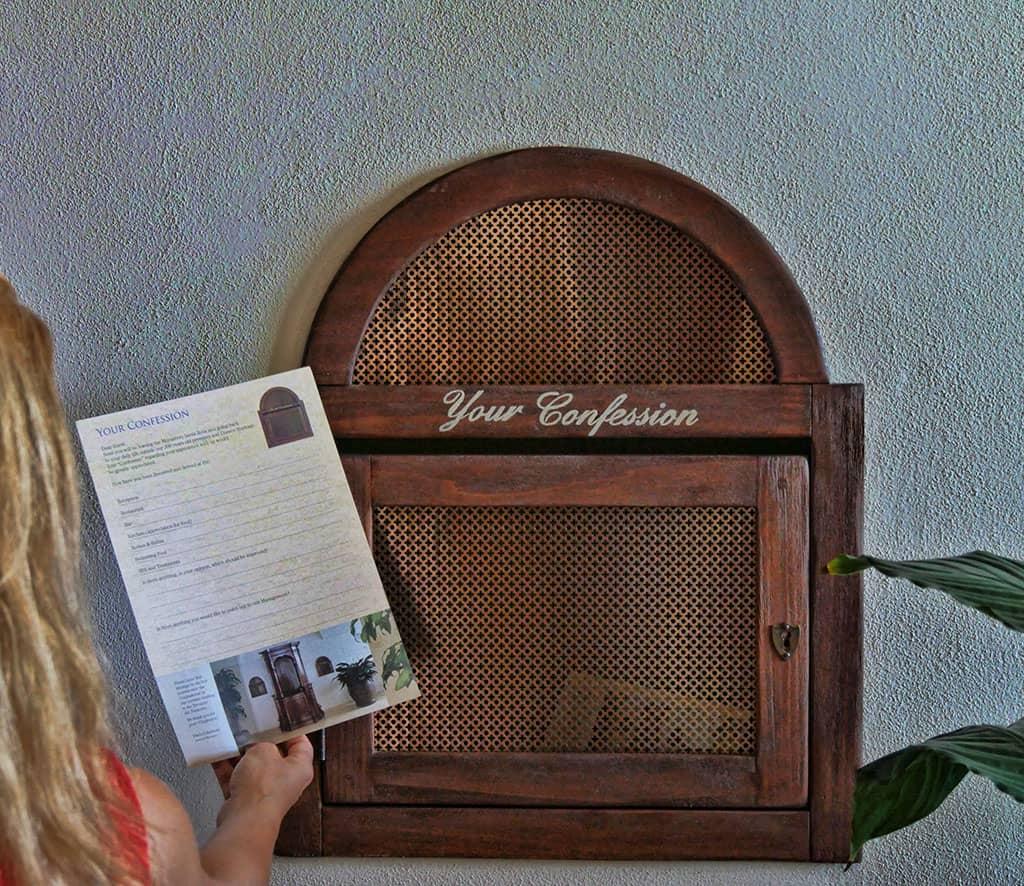 Monastero Santa Rosa confession