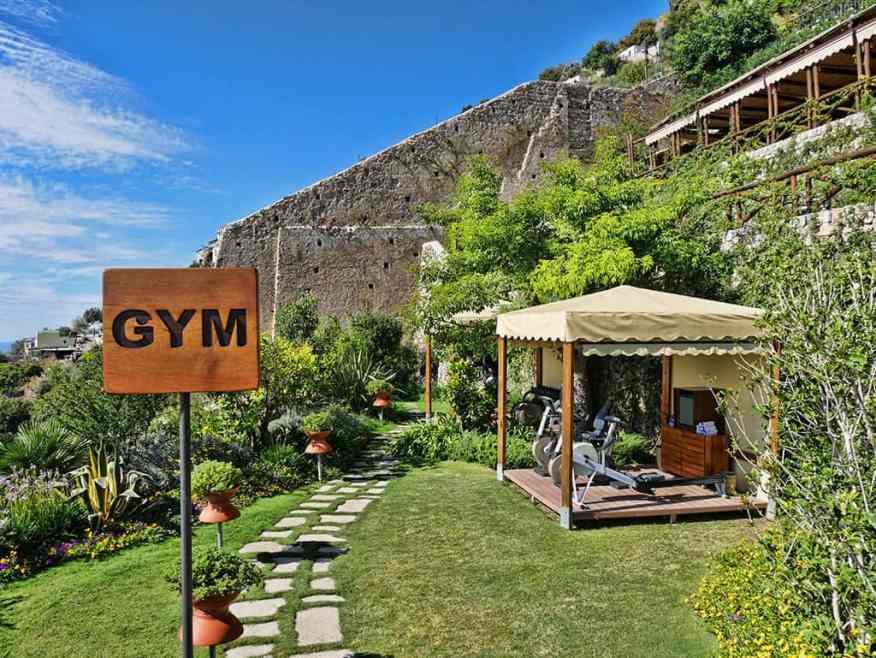 Monastero Santa Rosa gym