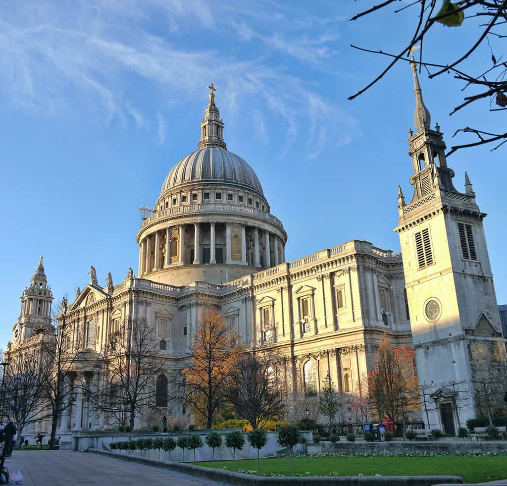 St Paul's Cathedral Luxury Columnist