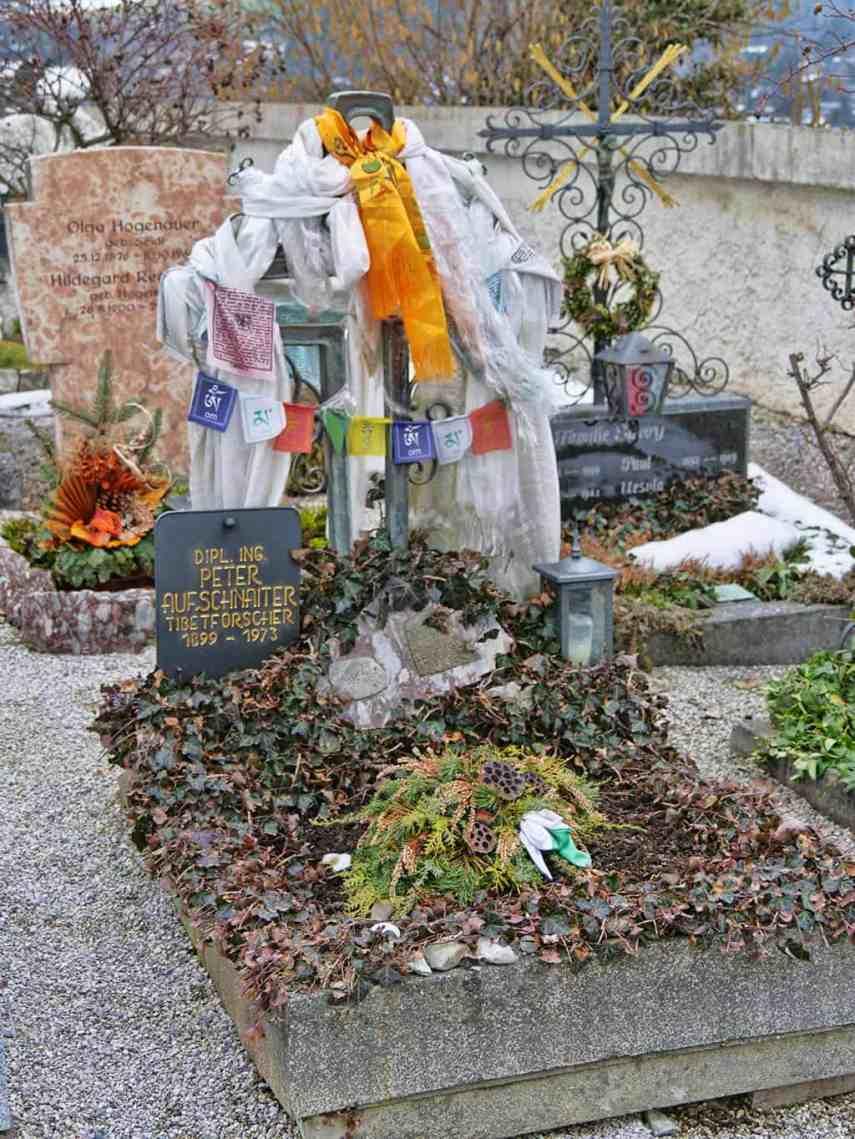 The cemetery in Kitzbuehel, Austria