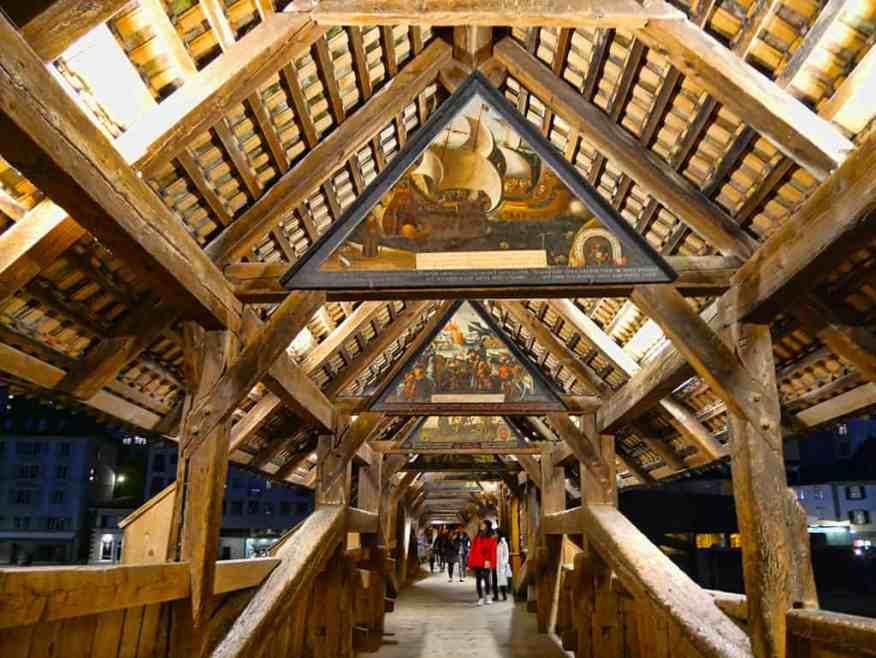 12 of the Most Luxurious City Breaks in Europe - Spreuer Bridge, Lucerne, Switzerland