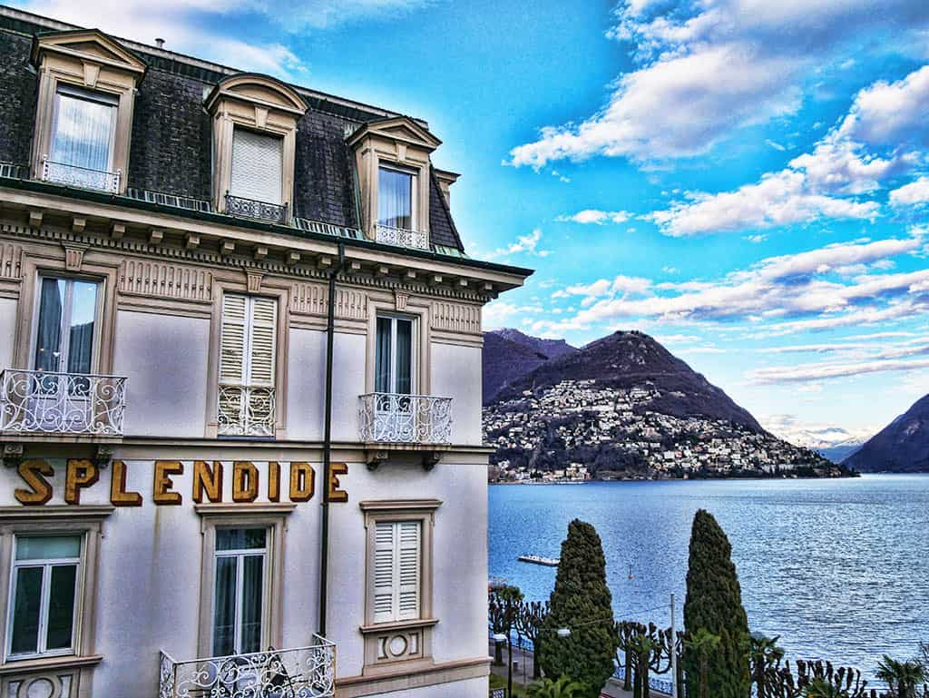 A Splendid Stay at The Glamorous Hotel Splendide Royal Lugano