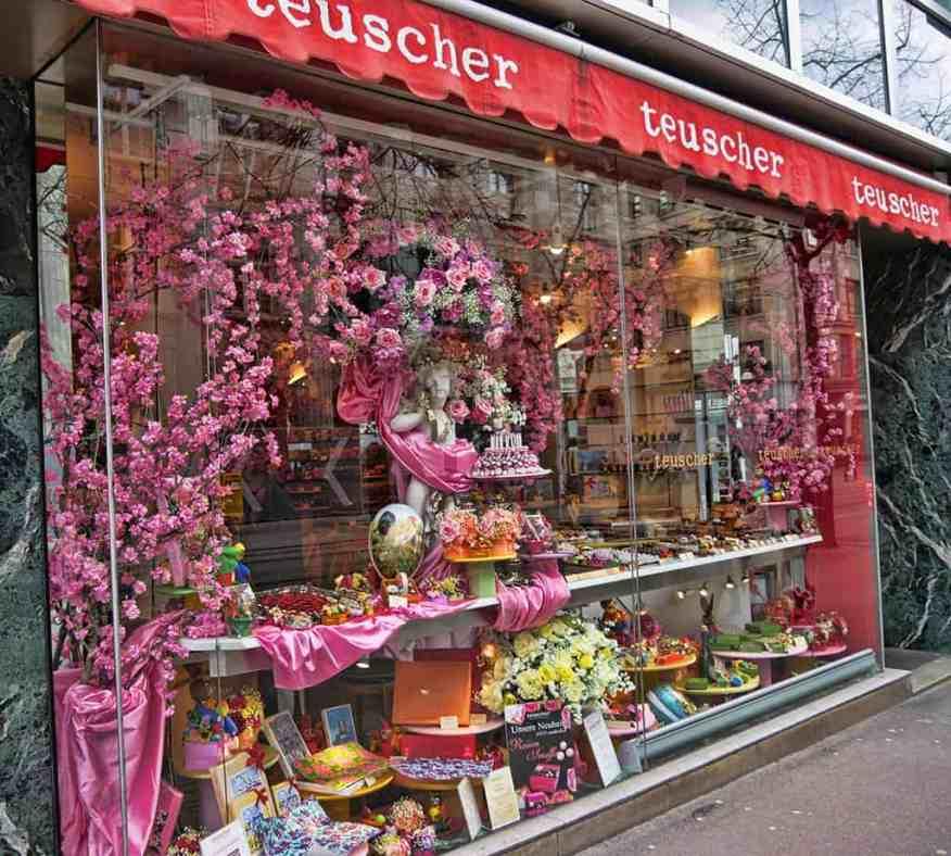 Teuscher is one of the best chocolate shops in Zurich, Switzerland - Luxury Columnist - Food Blog