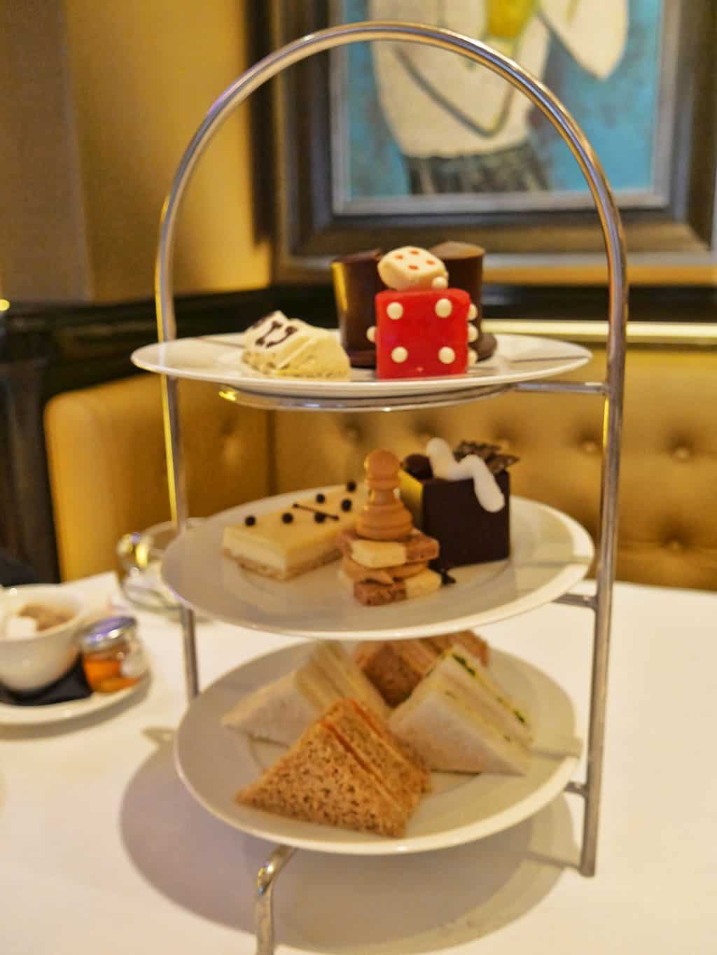 Champagne Afternoon Tea at St James's Hotel – It's All In The Game!