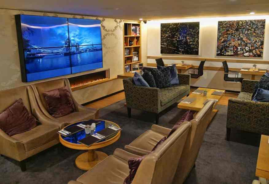 Marriott Grosvenor Square club lounge