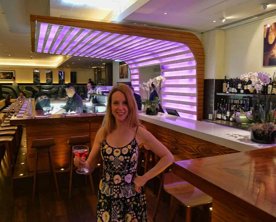 Maze Bar cocktail