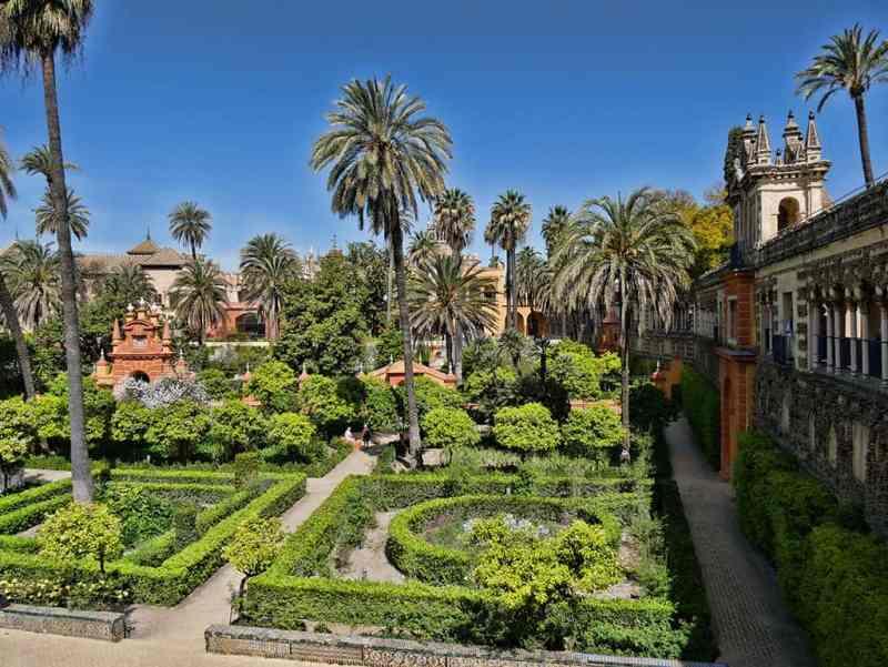 The Alcazar Seville, Andalucia, Spain