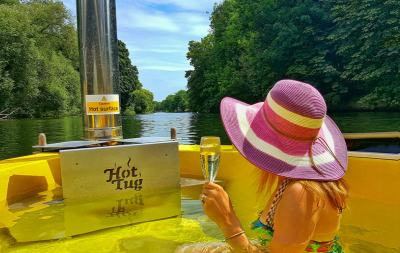 A Unique Trip in The UK's Only Hottug at The Runnymede on Thames