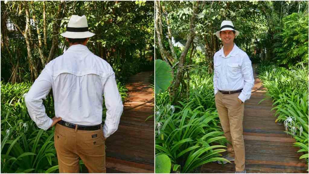 craghoppers-nosilife-white-shirt
