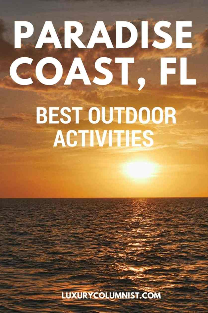Best Outdoor Activities - Paradise Coast, Florida