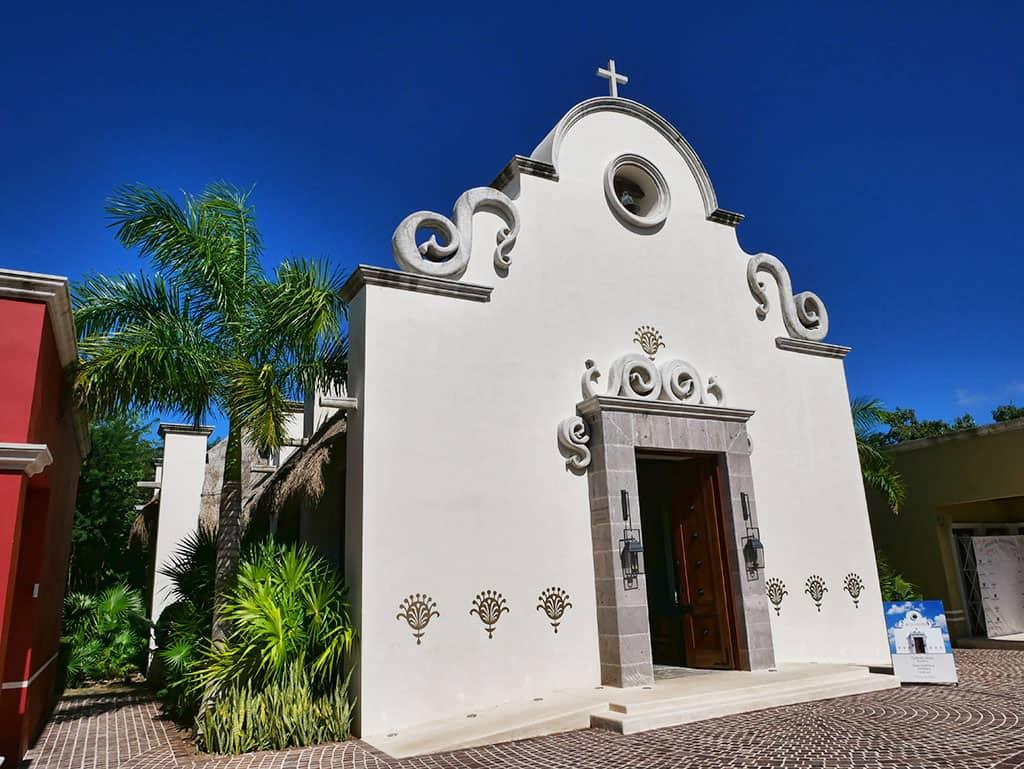 El Pueblito church Mayakoba