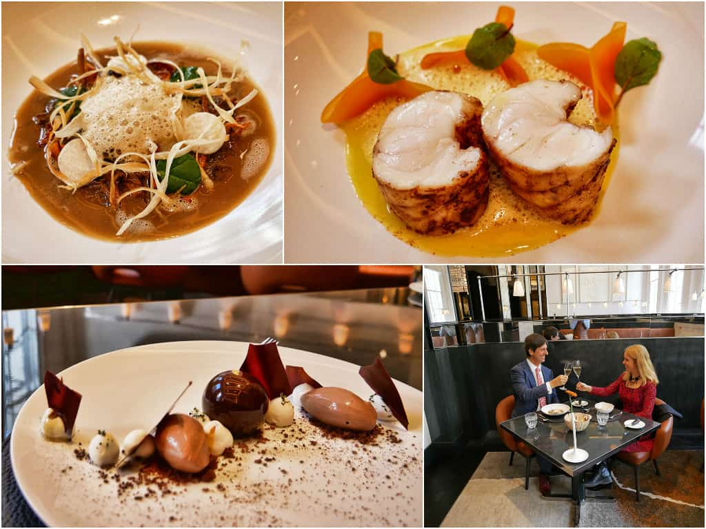 Four Seasons Trinity Square lunch