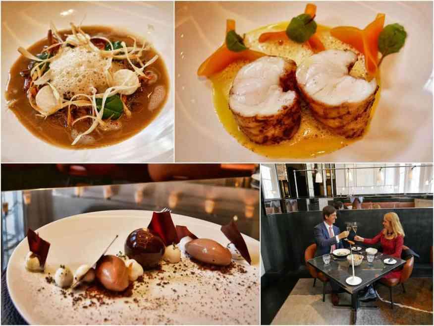 Four Seasons Trinity Square lunch