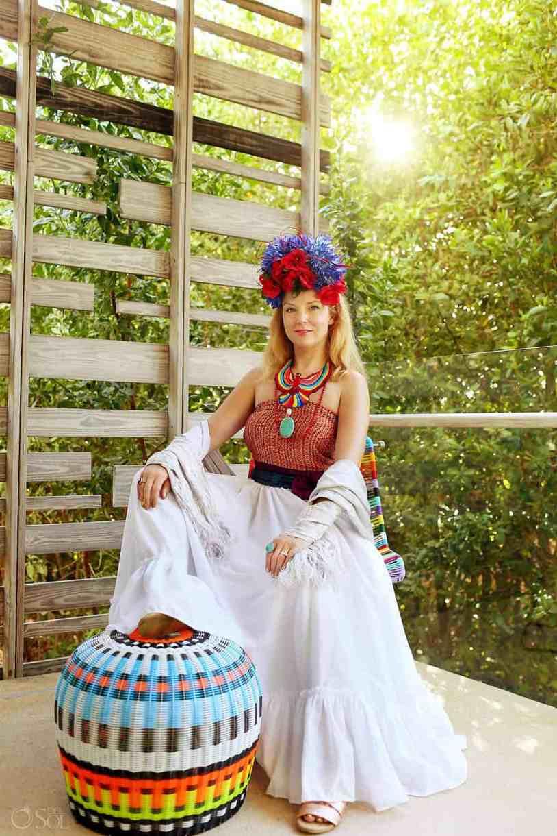 Suze, Frida's Wardrobe Experience, Andaz Mayakoba, Playa del Car