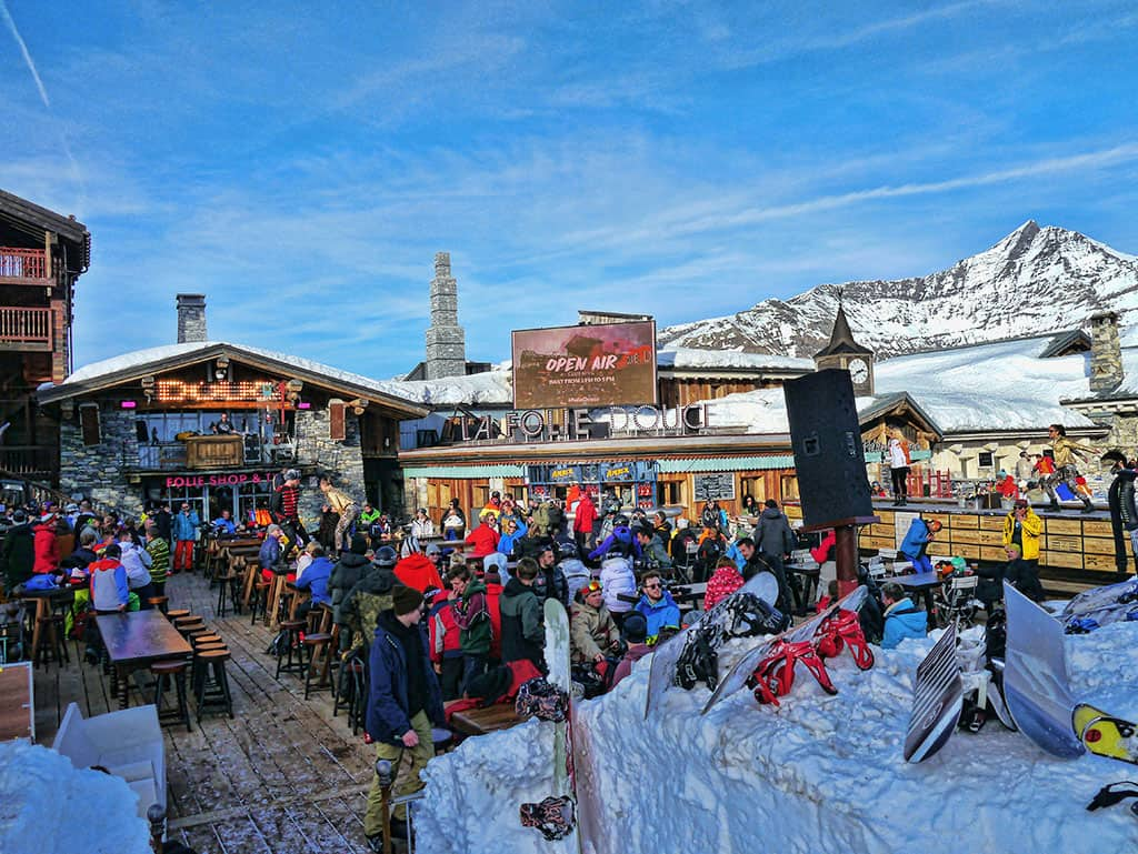 La Folie Douce apres-ski