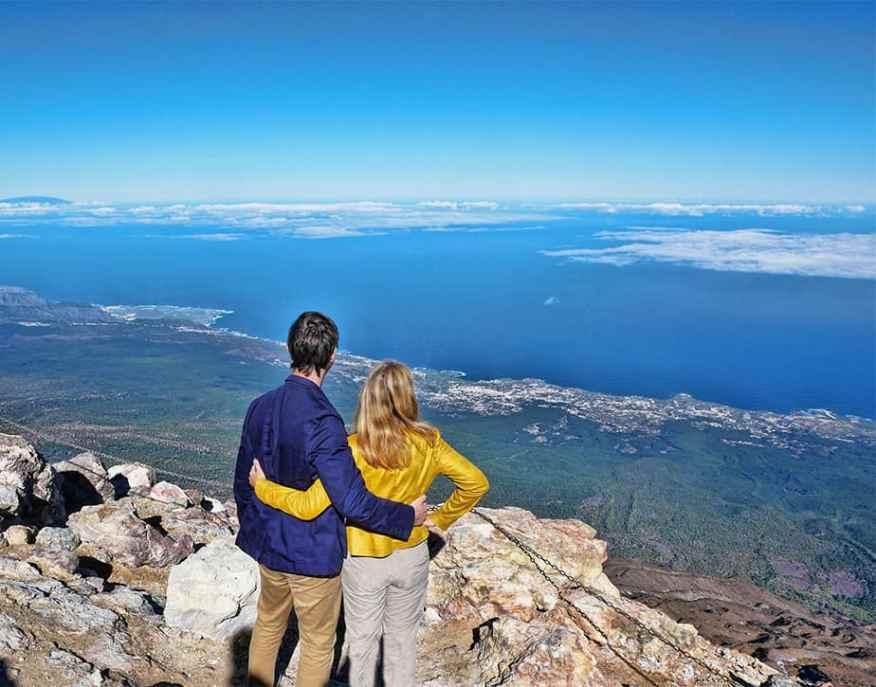 Mount Teide summit