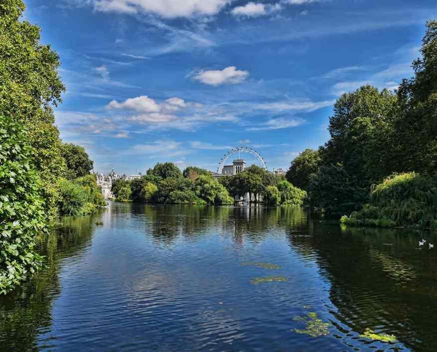 St James's Park London visit