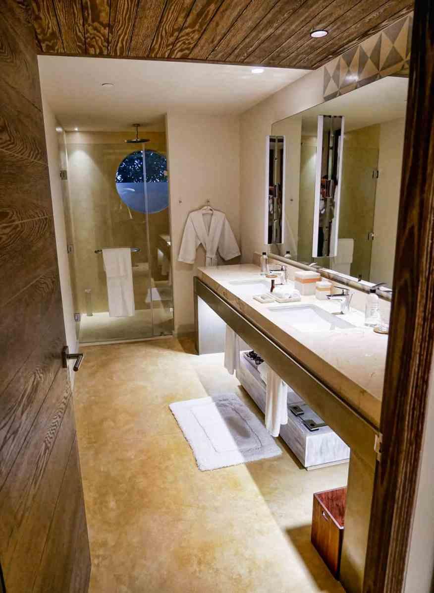 Andaz Mayakoba bathroom