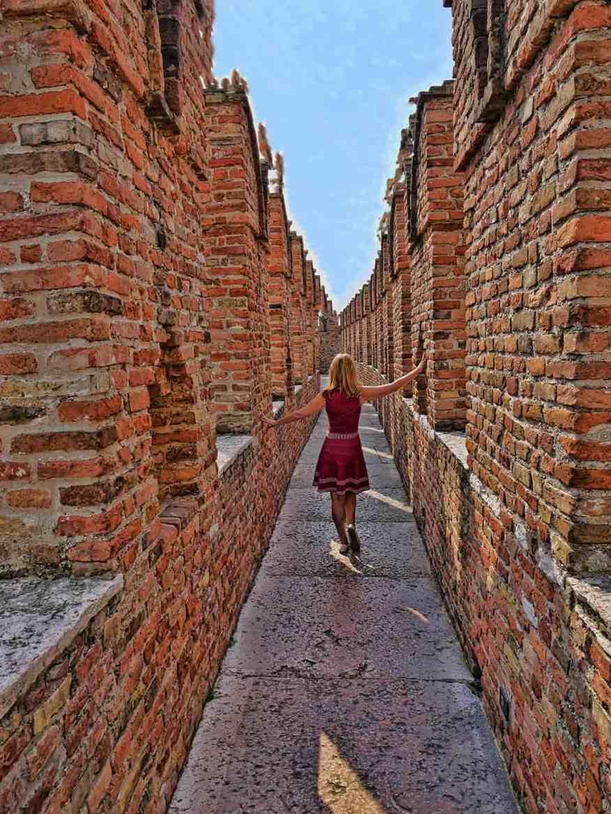 Castelvecchio Verona walls