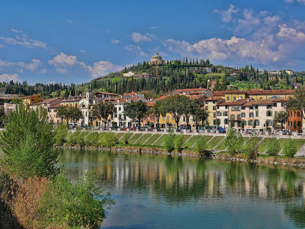 Verona river view