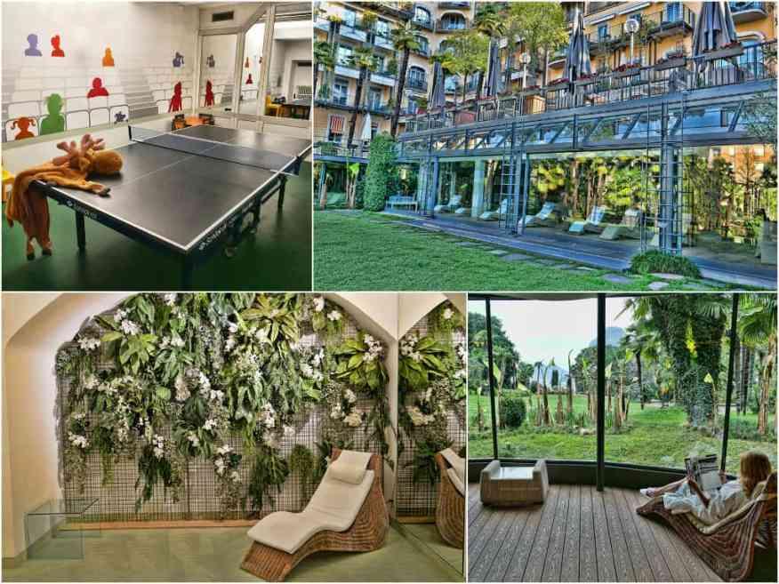 Villa Castagnola spa facilities