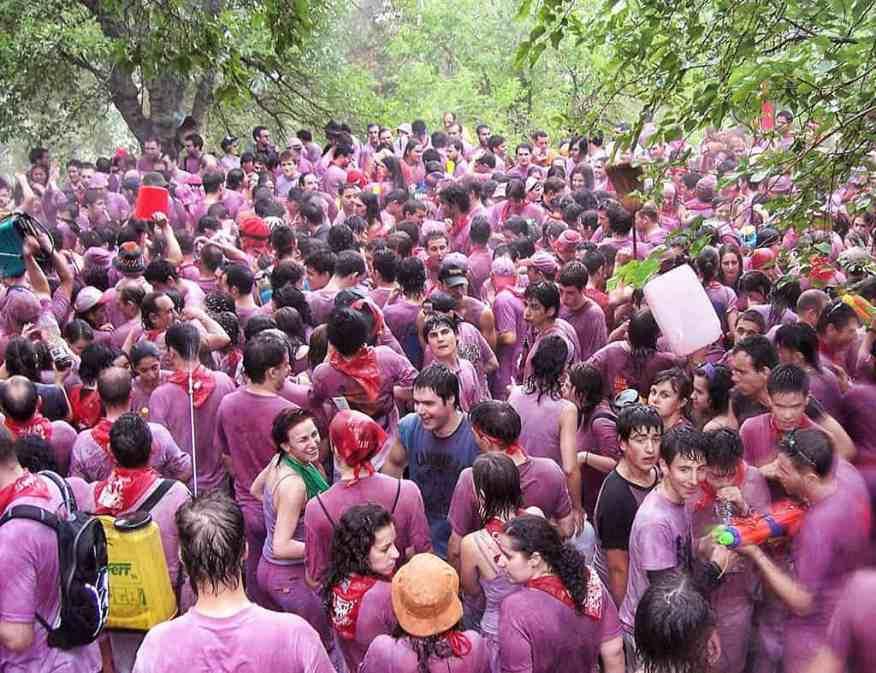 Battala del Vino, Haro - the Wine Battle in Spain