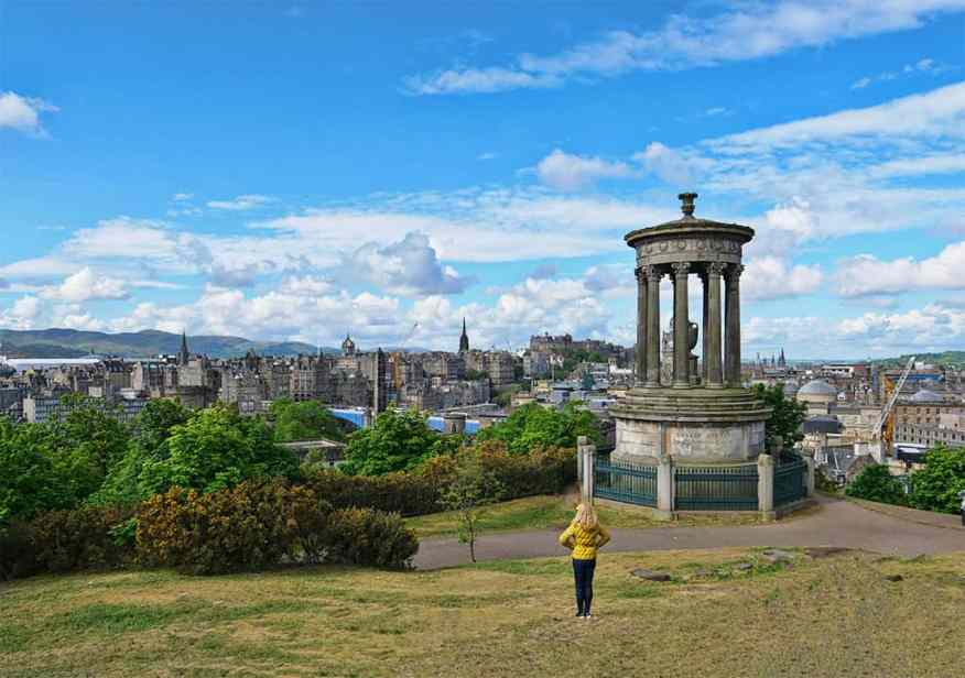 Calton Hill, Edinburgh, Scotland and June dining tips