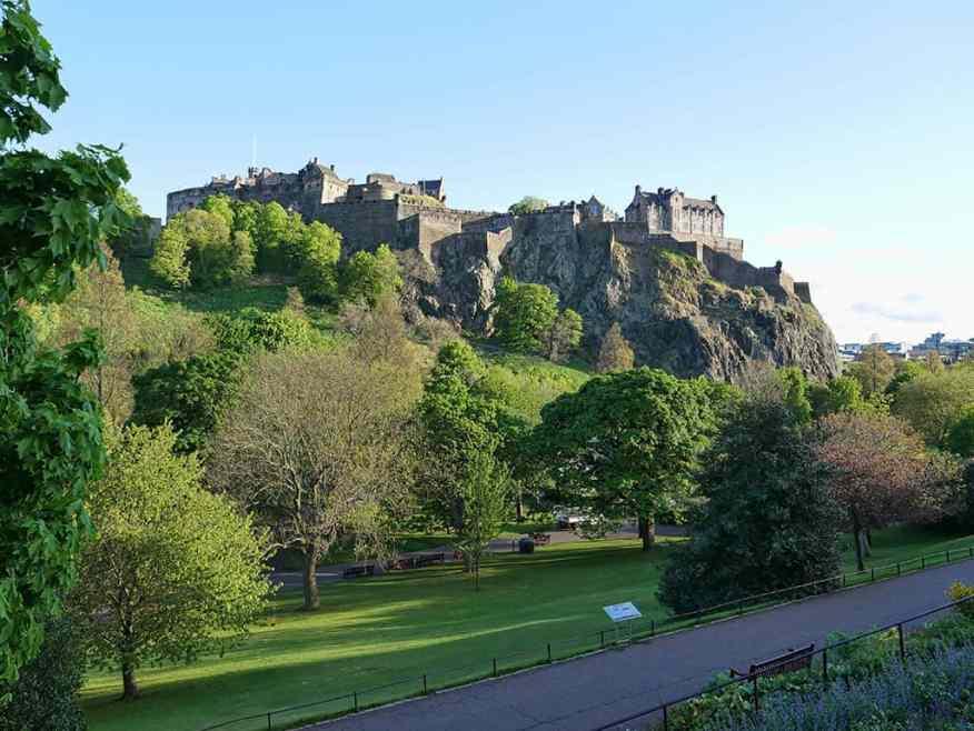 Edinburgh Castle visit