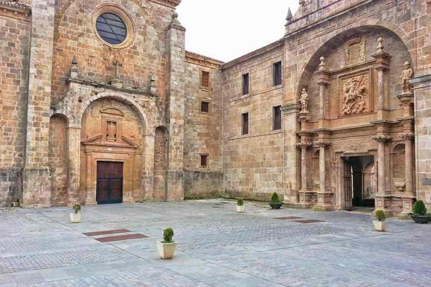 Monastery San-millan De Cogolla in the Rioja area of Spain
