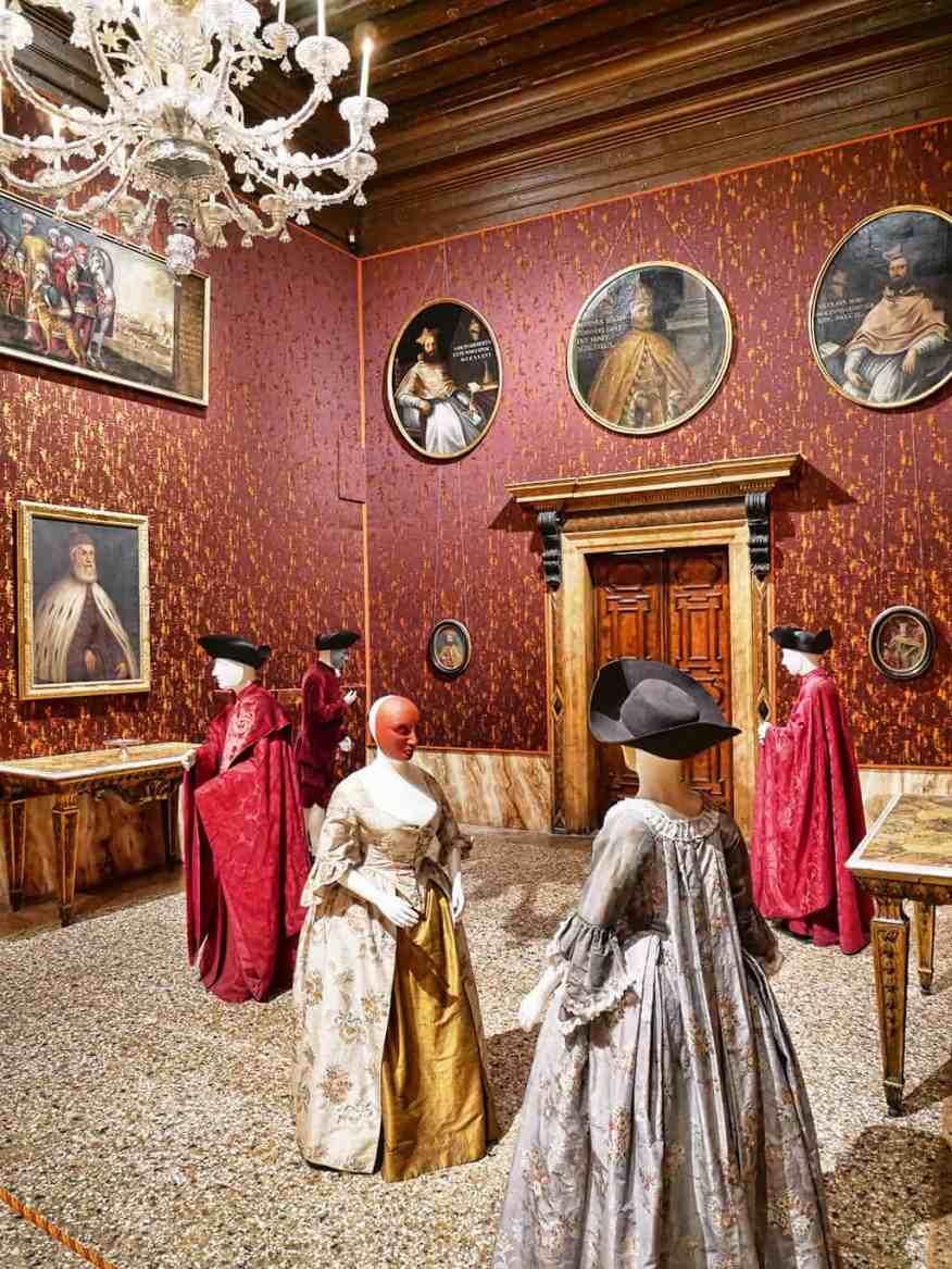Palazzo Mocenigo in Venice, well worth a visit