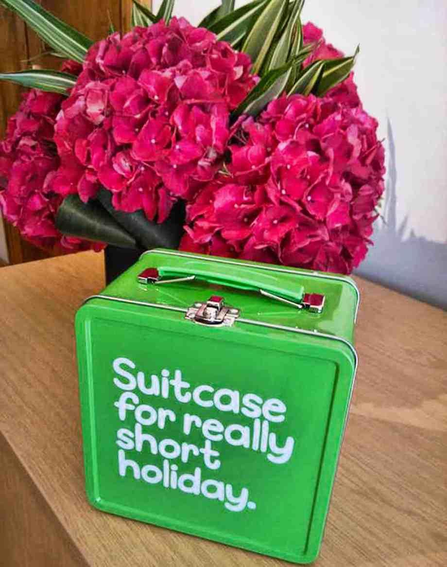 Mini suitcase