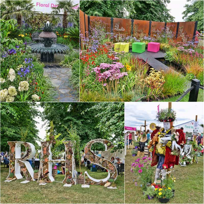 RHS Hampton Court Palace Flower Show 2017 - the largest flower show in the world, held every year in Surrey, England