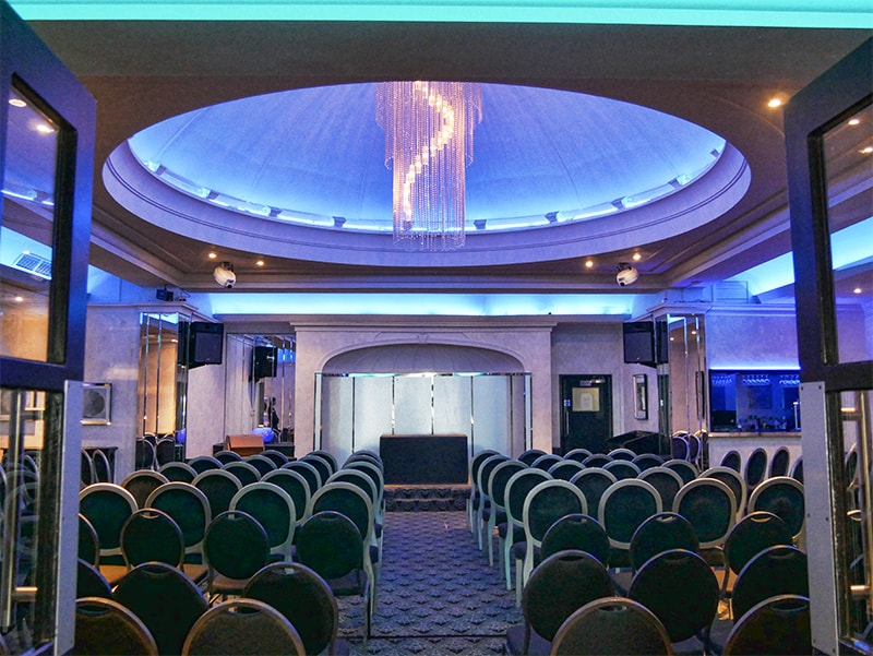 Conference room at The Cumberland Hotel Bournemouth