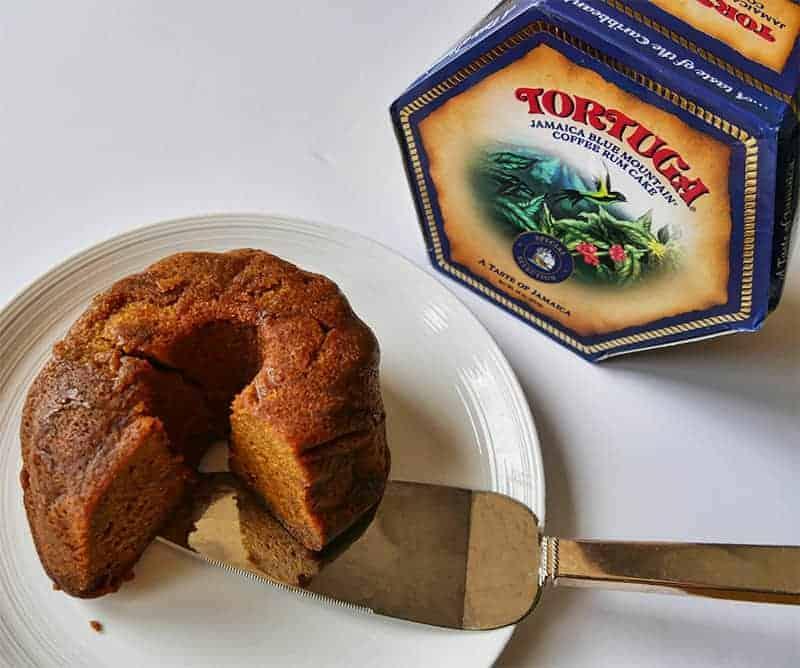 Tortuga rum cake from Jamaica