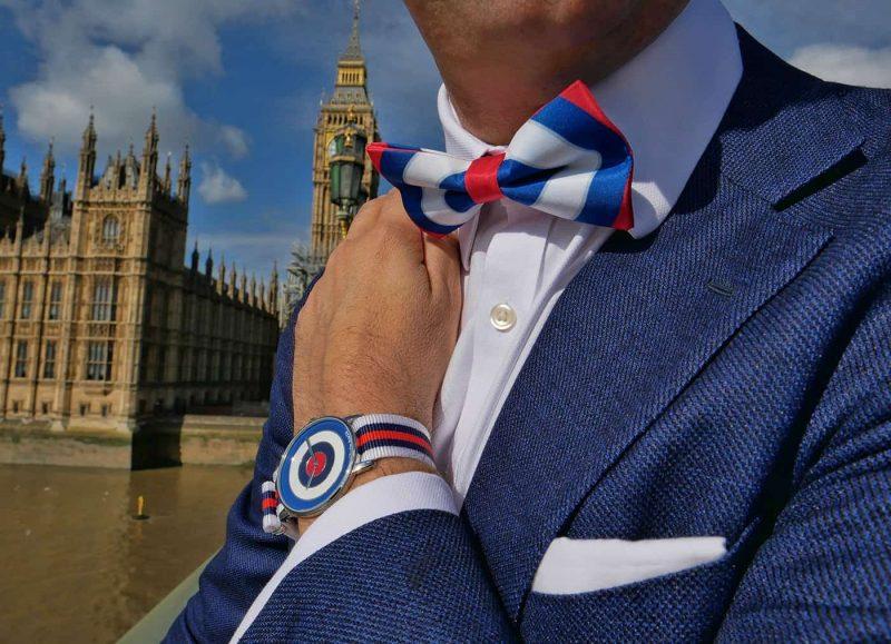 Big Ben Remi bow tie set