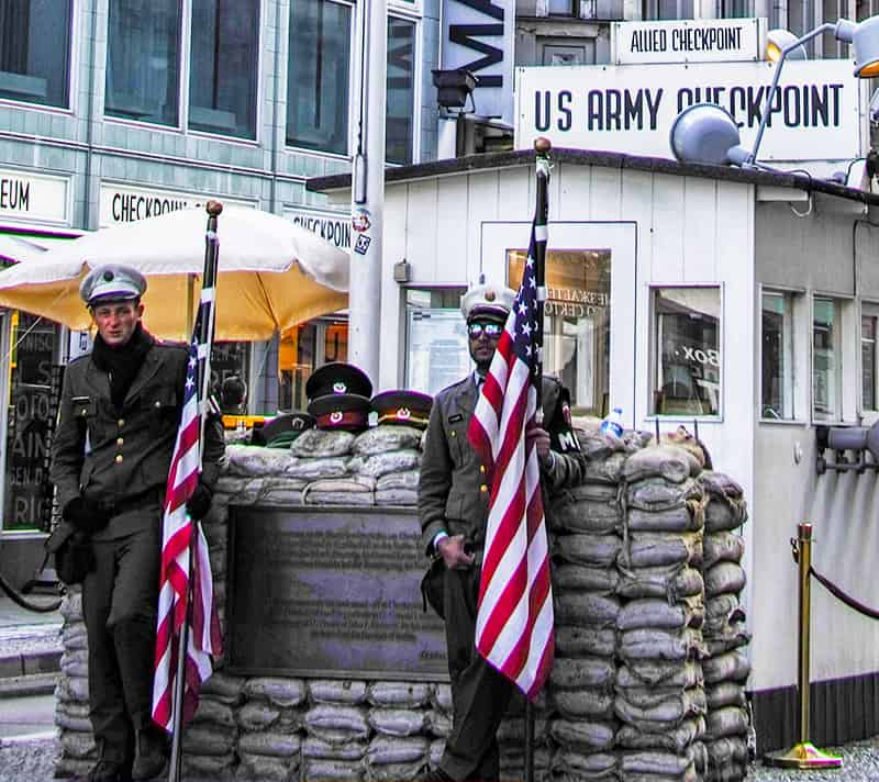 Checkpoint Charlie in Berlin, Germany Luxury Columnist Luxury lifestyle blog