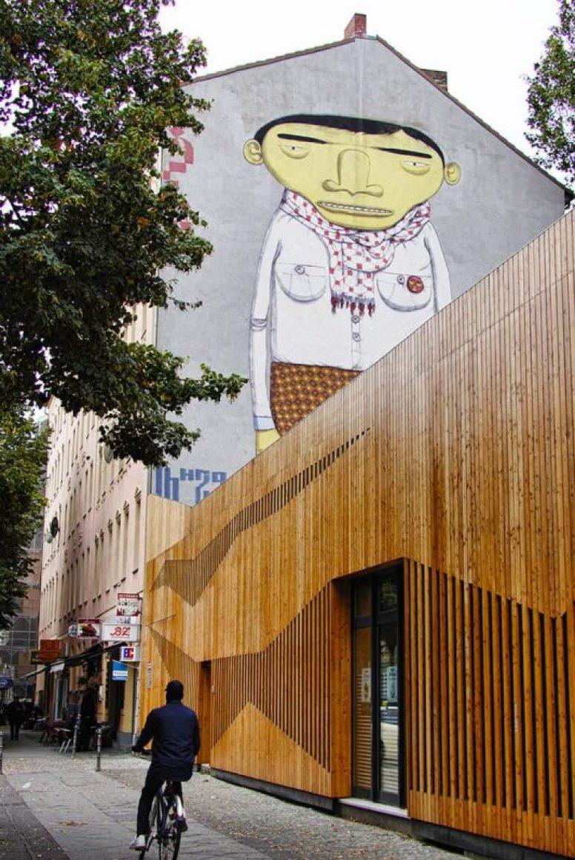 OSGEMEOS street art in Berlin, Germany - read our review on Luxurycolumnist blog