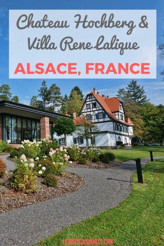 Chateau Hochberg & Villa Rene Lalique
